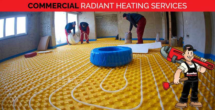 commercial radiant heating services