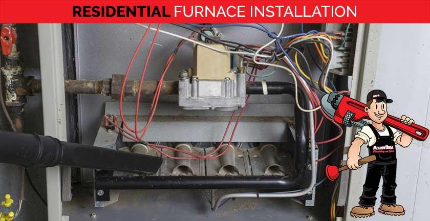 residential furnace installation