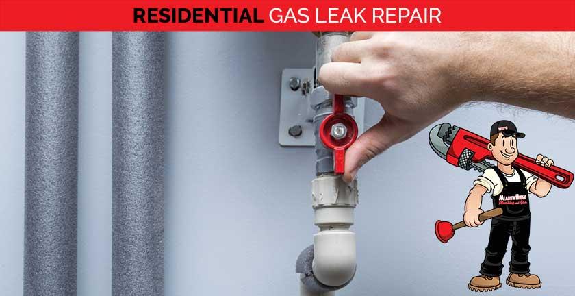 residential gas leak repair