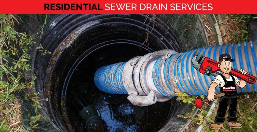 residential sewer drain services
